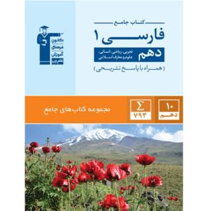 کتاب کمک درسی ادبیات فارسی دهم جامع قلم چی