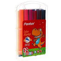 ماژیک رنگ آمیزی 12 رنگ پنتر Panter