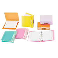 دفتر یادداشت B8 قفل دار پاپکو papco