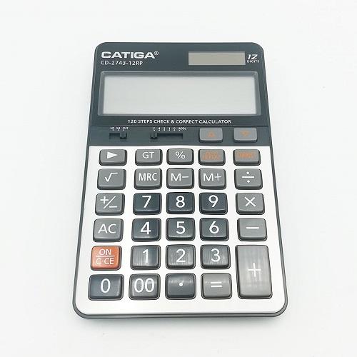 ماشین حساب کاتیگا Catiga مدل CD-2743-12RP ترنج مارکت