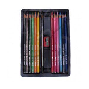 مداد رنگی دامس آبرنگی ۱۲ رنگ