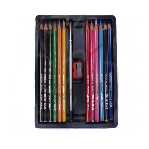 مداد رنگی دامس آبرنگی 12 رنگ