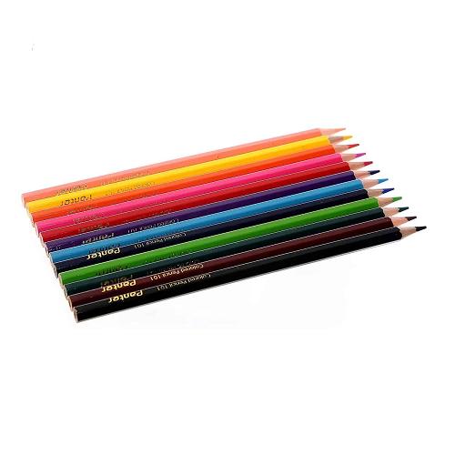 مداد رنگی 12 رنگ پنتر Panter جعبه مقوایی