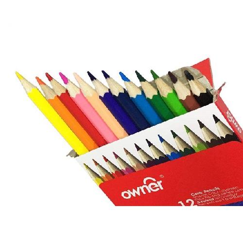مداد رنگی 12 رنگ اونر Owner ترنج مارکت
