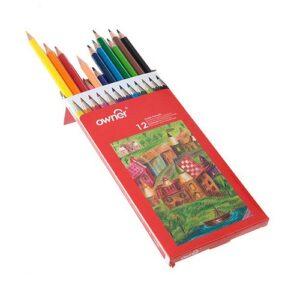 مداد رنگی ۱۲ رنگ اونر Owner