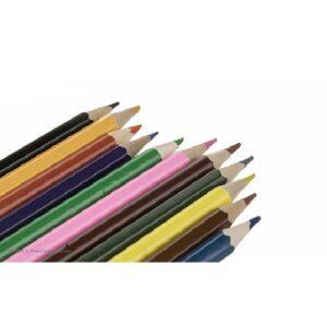 مداد رنگی ۱۲ رنگ جعبه مقوایی کوچک نیو الیت